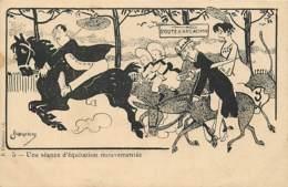 33 , ARCACHON , Illustration De ALBERTINUS , Seance D'équitation , * 446 40 - Arcachon