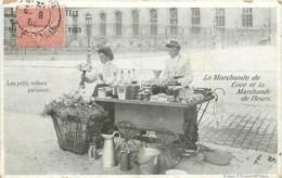 75 , Les Petits Metiers Parisiens , La Marchande De Coco Et Marchande De Fleurs , * 446 61 - Petits Métiers à Paris