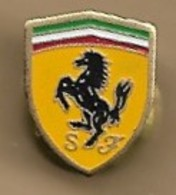 Pin's Logo Ferrari Cheval Cabré Italia - Ferrari