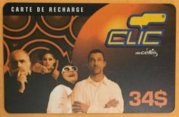 LIBAN CLIC DE CELLIS RECHARGE GSM 34$ EXP 15/04/2002 PHONECARD PAS TELECARTE CARTE TÉLÉPHONIQUE PRÉPAYÉE - Libano
