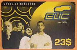 LIBAN CLIC DE CELLIS RECHARGE GSM 23$ EXP 31/12/2001 PHONECARD PAS TELECARTE PREPAID PRÉPAYÉE - Liban