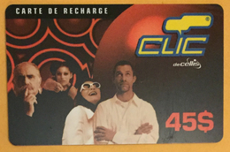 LIBAN CLIC DE CELLIS RECHARGE GSM 45$ EX P27/09/2002 PHONECARD PAS TELECARTE PREPAID PRÉPAYÉE - Libano
