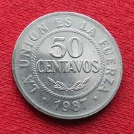 Bolivia 50 Centavos 1987 KM# 204 *V1 Bolivie - Bolivia
