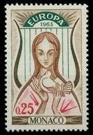 MONACO 1963 Nr 742 Postfrisch SA31762 - Non Classés