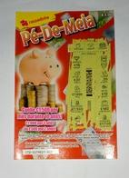 Billet De Loterie Instantanée,  Pé De Meia. Portugal - Billets De Loterie