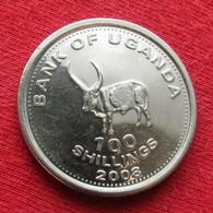 Uganda 100 Shillings 2008 KM# 67 *V1 Ouganda Oeganda - Oeganda