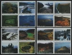 TAAF 2007 - Mi-Nr. 630-645 ** - MNH - Landschaften / Landscapes - Terres Australes Et Antarctiques Françaises (TAAF)
