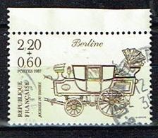 FRANCE/ Obliteres/Used/1987 - Journée Du Timbre - Usados