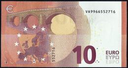10 EURO - ESPAÑA  -  SPAIN -  VA V009 F6 - V9966552716 - DRAGHI - UNC - SIN CIRCULAR - 10 Euro