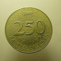 Lebanon 250 Livres 2009 - Lebanon
