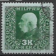 BOSNIA EZERGOVINA 1916  EFFIGE DI FRANCESCO GIUSEPPE UNIF. 112  USATO VF - Bosnie-Herzegovine