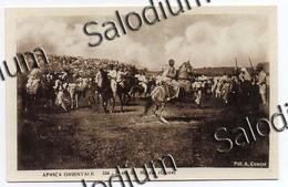 AFRICA ORIENTALE - Feste Festa Del Mascal Croce Cavallo Horse  - Colonie Regno D'Italia - Africa - Eritrea