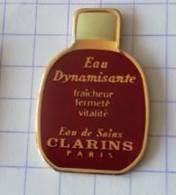 Pin's - CLARINS - Eau Dynamisante - Parfums