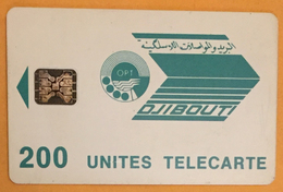 DJIBOUTI TÉLÉCARTE 200U PHONECARD CARD - Djibouti