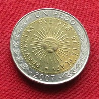 Argentina 1 Peso 2007 KM# 112.1 *V2 Argentine - Argentine