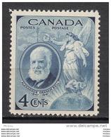 Canada, 1947, #274, Alexander Graham Bell, Téléphone, Télécom, Prix Nobel, Physique, Ange, Angel, Physic, Nobel Prize - Nobel Prize Laureates