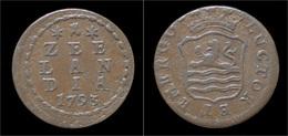 Netherlands Zeeland Duit 1793 - [ 1] …-1795 : Période Ancienne