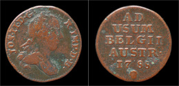 Austrian Netherlands Brabant Joseph II Oord (liard)1788 - [ 1] …-1795 : Période Ancienne