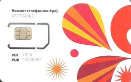 VIPNET * MOBILE * GSM * SIM CARD * VIPnet 1 * North Macedonia - Macédoine