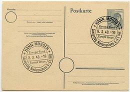ALLIIERTE BESETZUNG, GS P 962 SST-STPL HANN.MÜNDEN LANDESTAG NIEDERSACHSEN 1948 - Zone AAS
