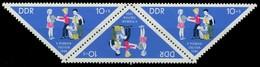 DDR ZUSAMMENDRUCK Nr K4-1045 1045 Postfrisch 3ER S X105A12 - DDR