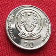 Rwanda 20 Francs 2009 *V2  Ruanda - Rwanda