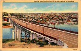 Washington Seattle George Washington Memorial Bridge Curteich - Seattle