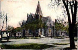 Nebraska York First Methodist Episcopal Church 1909 - Autres