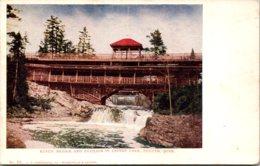 Minnesota Duluth Lester Park Rustic Bridge And Pavilion - Duluth