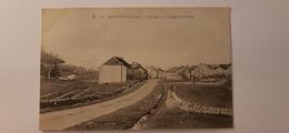 Superbe Cpa 39 Jura Montrond L'entrée Du Village - France