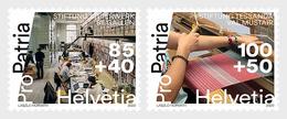 Switzerland 2020 - Pro Patria – Living Cultural Heritage Stamp Set Mnh - Nuevos