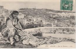 Algérie - ALGER - Sur La Terrasse - Algiers