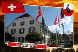 Postcard, REPRODUCTION, Municipalities Of Switzerland, Épalinges - Landkaarten