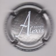 Capsule Champagne LECONTE Xavier ( 10a ; Cuvée ALEXI , Estampée Argent Et Blanc ) {S19-20} - Champagne