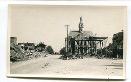 Carte Photo 62 : BERCK  Ruines Guerre 39-45 La Mairie   A  VOIR  !!!!!!! - Berck
