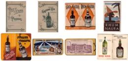 LOT De 7 Carnets Publicitaire Sur Le RHUM - Rhum