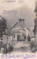 Allant Aux Foins - Kapelle Grimentz - Chapelle Proche De Grimetz Animée - VD Vaud