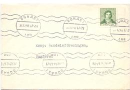 Omslag Enveloppe Kuvert - Suède Zweden Sverige - Boras 1942 - Postal Stationery