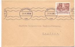 Omslag Enveloppe Kuvert - Suède Zweden Sverige - Hälsingborg 1941 - Postal Stationery
