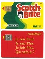 L17c) 2 Télécartes (50) France 1992 - France
