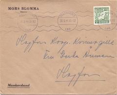 Omslag Enveloppe Kuvert - Pub Reklam Reclame - Mors Blomma - Stockholm   Suède Zweden Sverige - 1944 - Postal Stationery