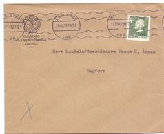 Omslag Enveloppe Kuvert - Pub Reklam Reclame - Filatelistförening - Karlstad Suède Zweden Sverige - 1943 - Postal Stationery