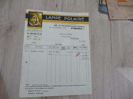 Facture Illustrée Lampe Polaire Paris - Other