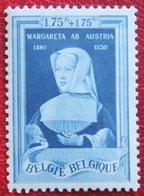1,75Fr + 1,75Fr Historische Figuren 1941 OBP 579  (Mi 575) Ongebruikt/ MH BELGIE BELGIUM - Unused Stamps
