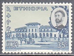 ETHIOPIA   SCOTT NO  448   MINT HINGED     YEAR  1965 - Ethiopie