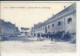 BONN SUR LE RHIN Quartier Murat Le Pansage - Casernes