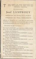 Kessel-lo, Linden, 1963, Jozef Lamproey, Peelaerts, Geeraerts - Images Religieuses