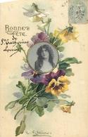 TOP 262 - CPA Original  Fleurs -  Carte En Relief   Catharina KLEIN  Signée - ,  Voir Scan Recto Verso - Klein, Catharina