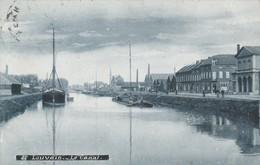 Leuven , Louvain  , Le Canal , Le Canal , Péniche Au Chargement à Quai - Leuven