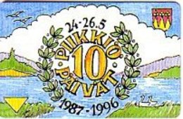 Finland Phonecard Turku B16 - Finlande